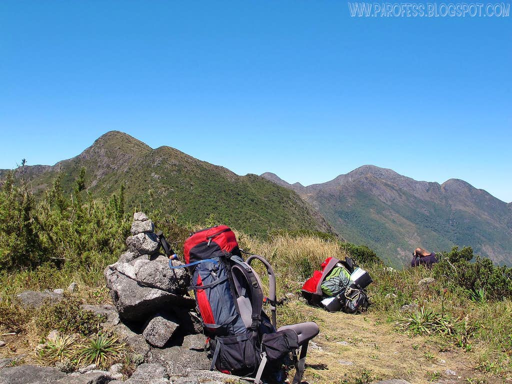 The summit of Alto dos Ivos