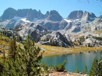 The Minarets and Ediza Lake