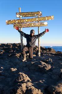 Kilimanjaro Uhuru Peak