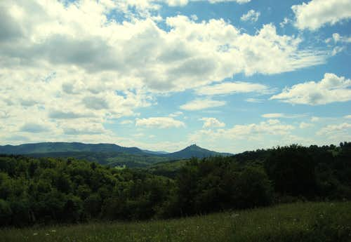 View of Burg Hohenzollern