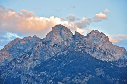 South Teton, Nez Perce and Middle Teton