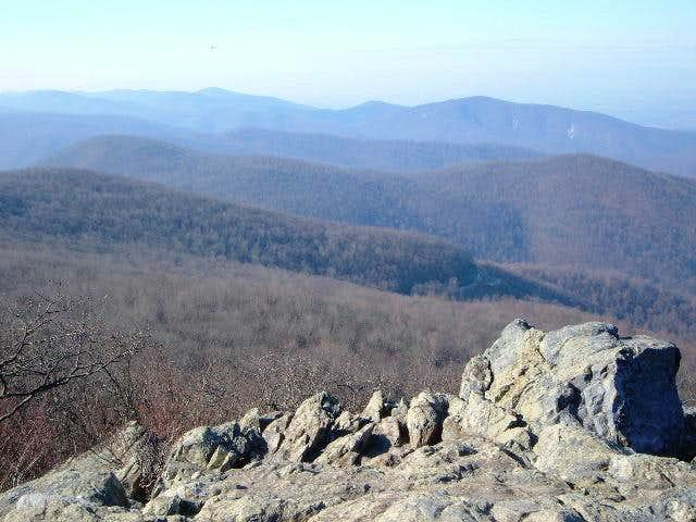View from near the summit