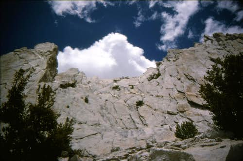 Cathedral Peak - South Face
