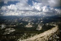 Cathedral Peak - Summit View
