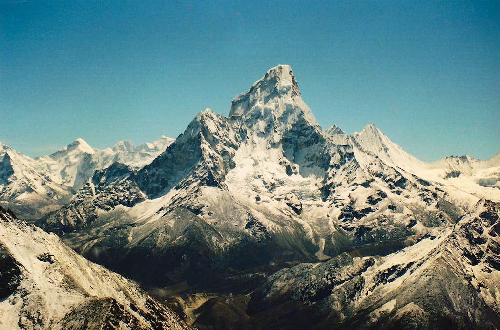 Ama Dablam from Unnamed peak 1987.