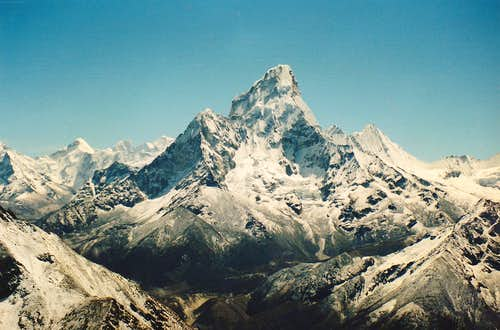Ama Dablam from Unnamed peak 1987.