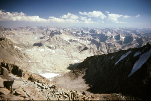 View from Mt Sill