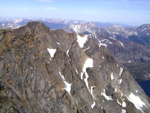 Granite Peak MT-View from the summit