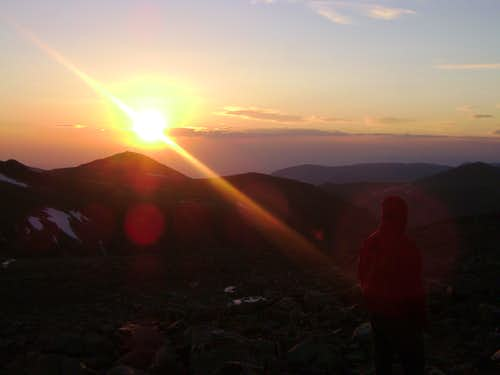Sunrise-Near Granite Peak MT