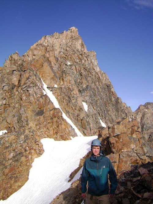 Summit pyramid of Granite Peak MT