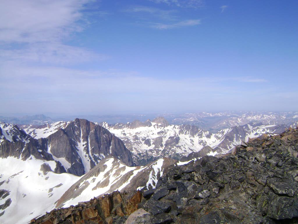 Glacier Peak-Seen from the summit of Granite Peak