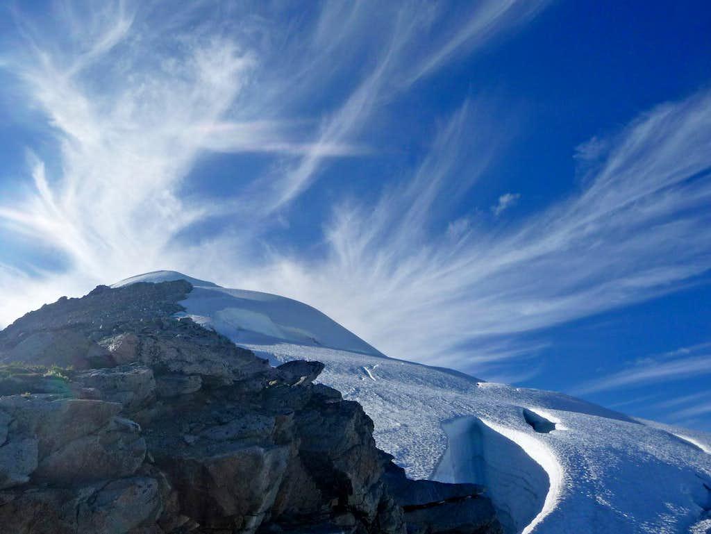 Cirrus Clouds over Eldorado Peak
