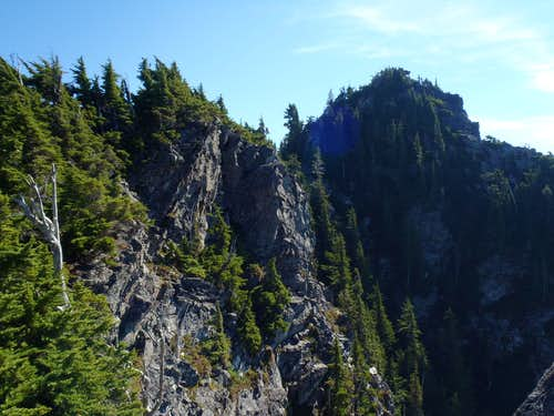 Bald Eagle Peak - Upper Ridge