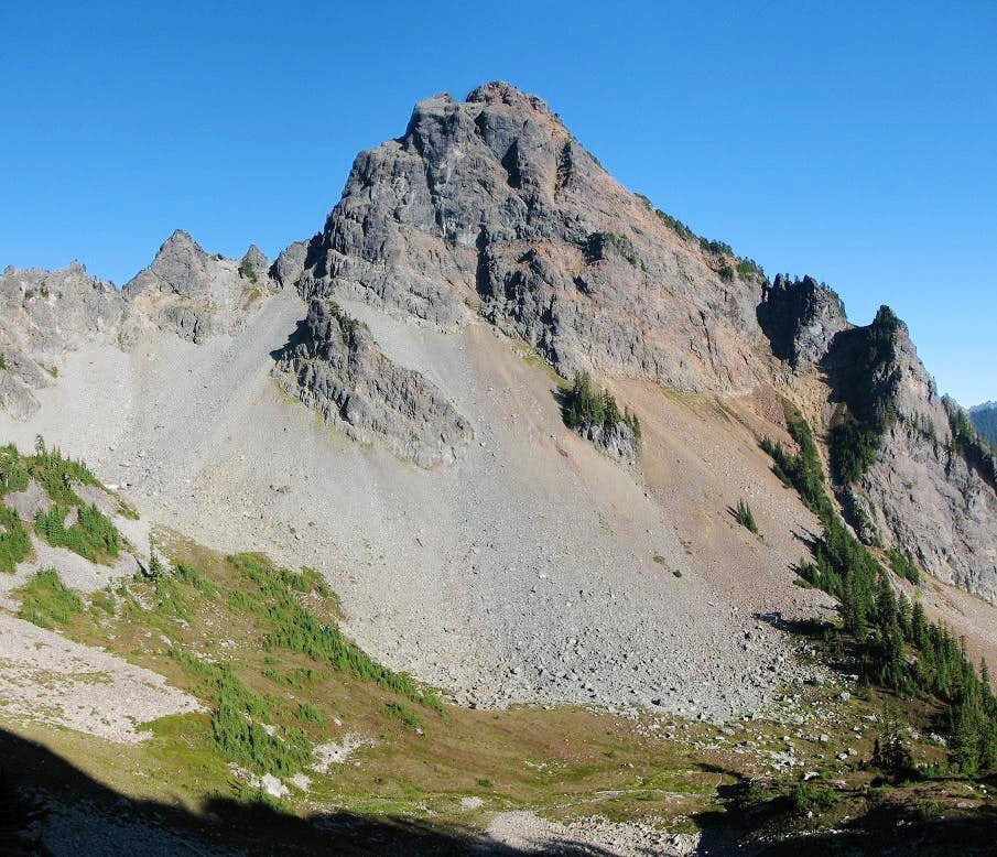 Mount Thomson from Bumble Bee Pass