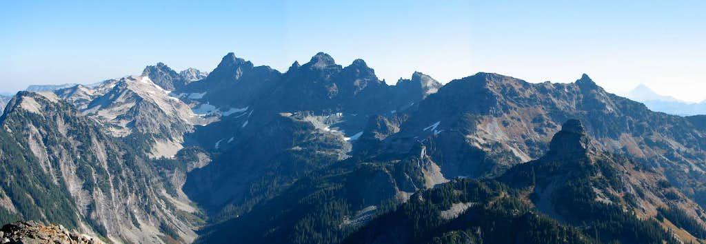 Mount Thomson Summit Panoroma