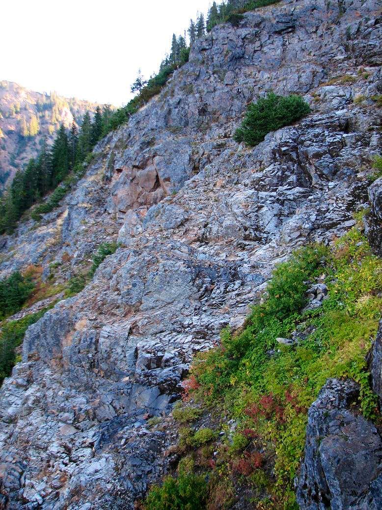 Kendall Peak Cliffs