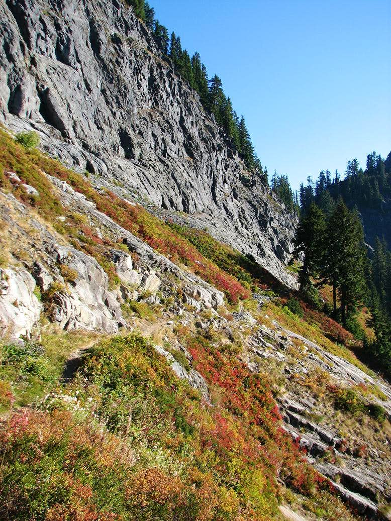 Fall Colors on the Trail to Mount Thomson