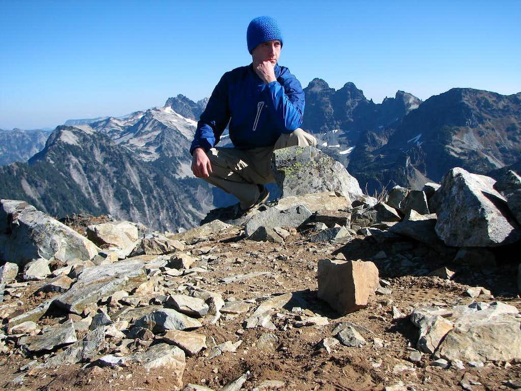Mount Thomson Summit Self Photo