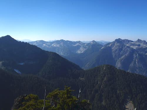 West View From Bald Eagle Peak