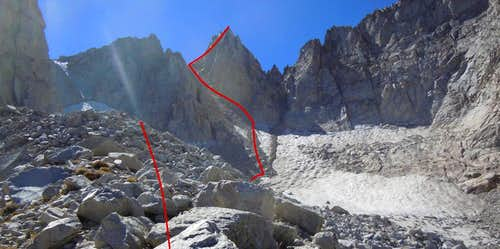 Matterhorn Peak (East Couloir Route)