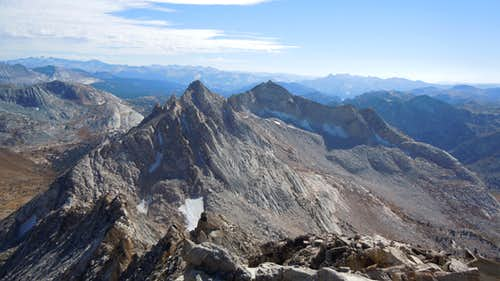 Matterhorn, summit, looking Southeast