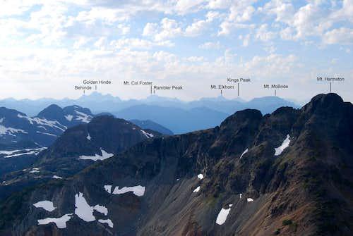 Peaks of Marble Meadows and Elk River area