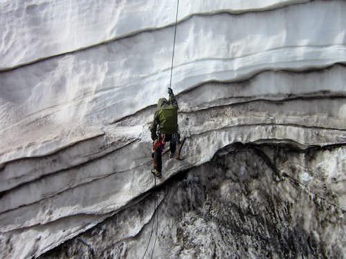 Crevasse Cragging