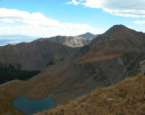 Eureka Mountain as seen from...