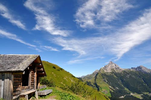 Föhn clouds above the Lech valley