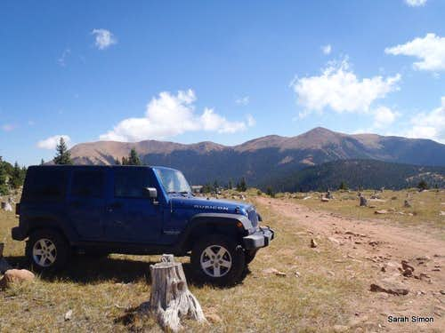Upper 4x4 Parking 11,387 feet