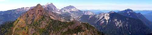 Fletcher Peak (Canyon Peak) north pano