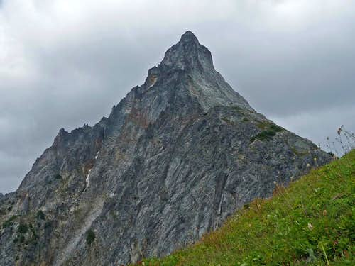 Mixup Peak near the Gunsight Notch