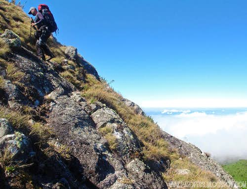 Another one of Flavio hiking Melano