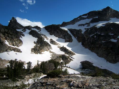 Chutes in Upper Goat Lake Basin