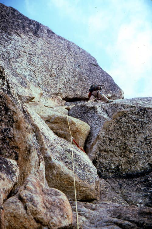 Liberty Bell - Beckey Route