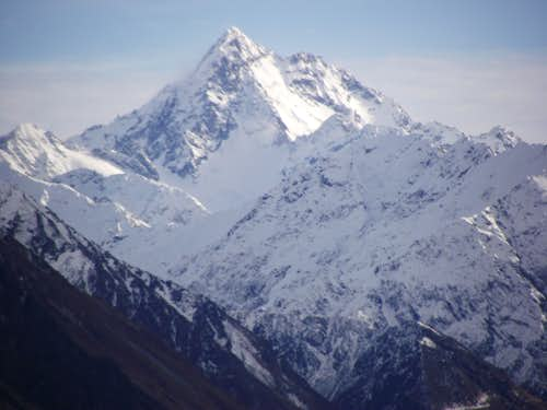 Soaring Summit in the Southern Alps