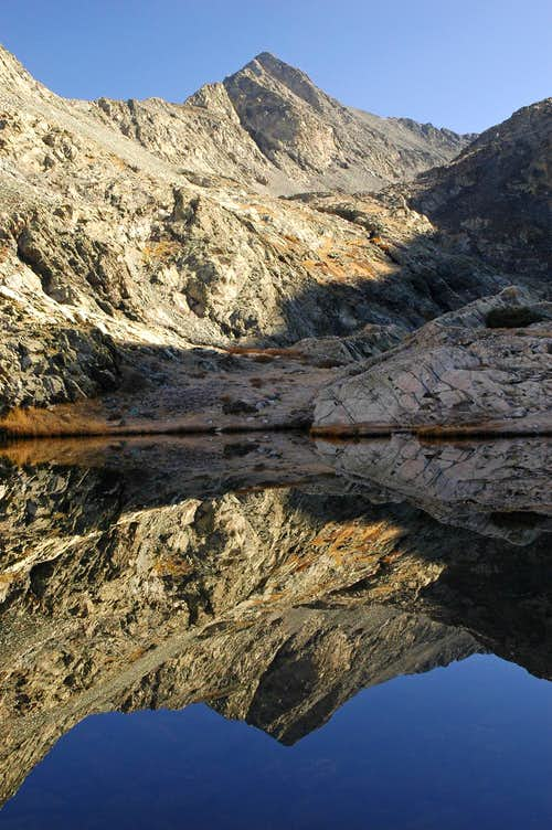 Ellingwood Point - Morning Reflection in Blue Lake
