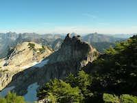 Rocks near Summit of Snoqualmie Mountain