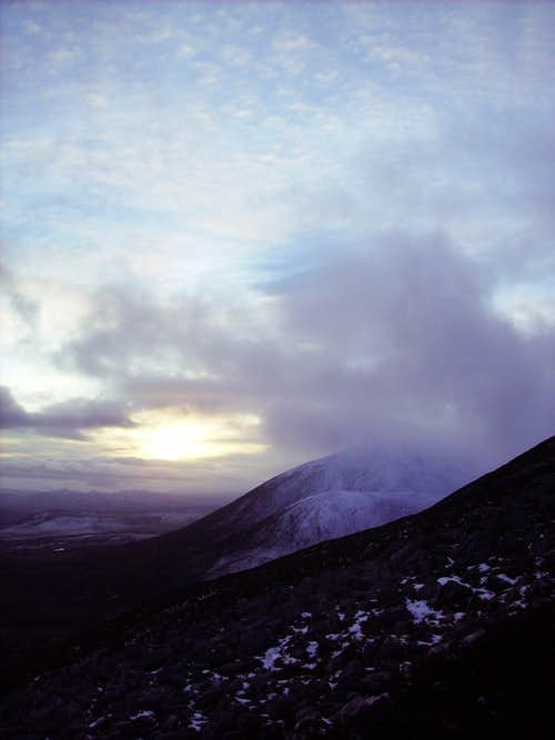 Beinn a Ghlo Sunset