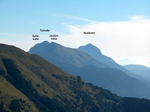 Looking towards Torkofel and...