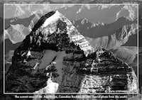 Mt. Assiniboine aerial photo