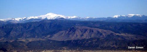 Pikes Peak and the Almagres