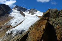 SE face of Wildspitze