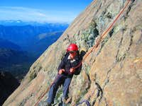 Rob belaying
