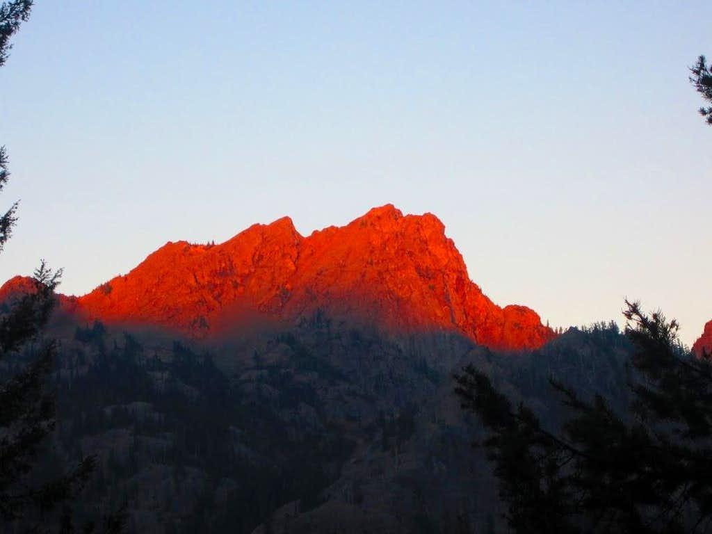 Esmeralda sunrise