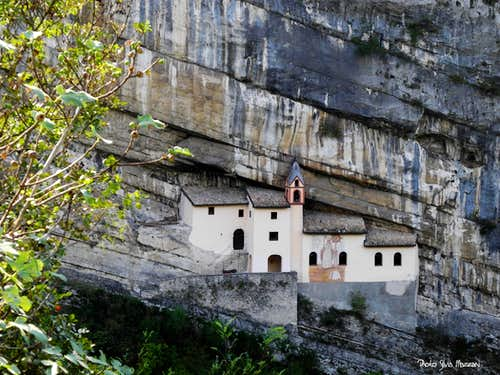 The 8th century ancient San Colombano hermitage