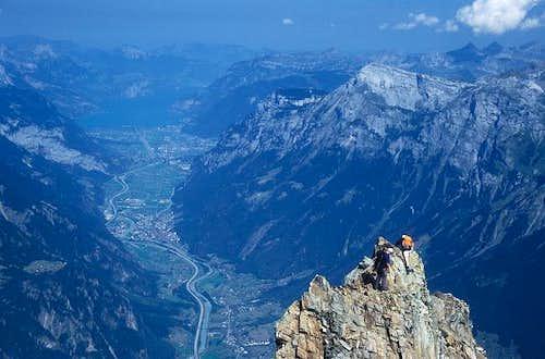 alone among Swiss