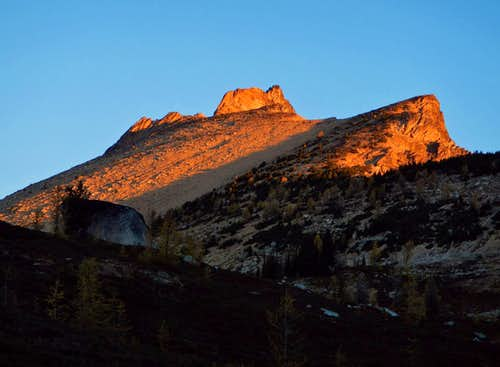 Golden Horn Alpenglow