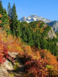 Columbia Peak - Fall Colors