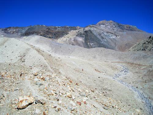Mont de l'Etoile from Cabane des Aiguilles Rouges